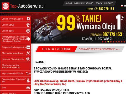 Top-autoserwis.pl serwis samochodowy warty polecenia