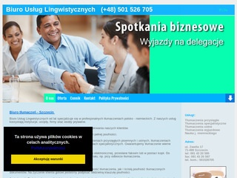 Tumaczenia - szkoła językowa Szczecin