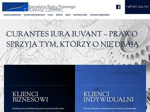 Tczerwiec.pl radca prawny Warszawa