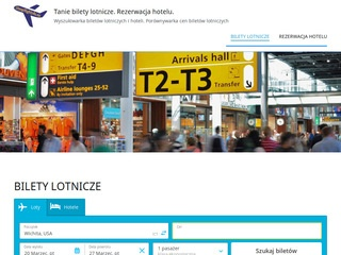 Tanielatanie4u.pl wyszukiwarka biletów lotniczych
