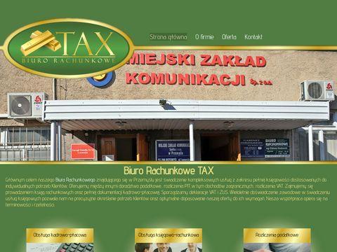 TAX zeznania podatkowe Przemyśl