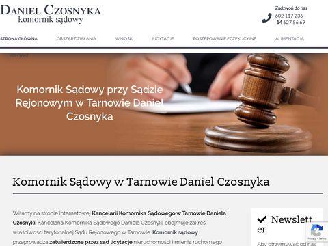 Marian Piasecki egzekucja należności Tarnów