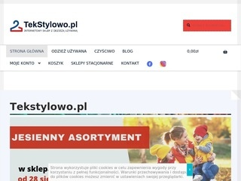Tekstylowo.pl lumpeks online