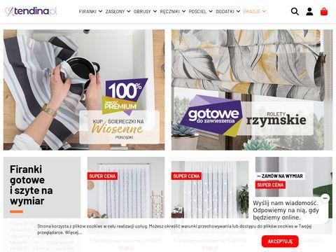 Tendina.pl firany do kuchni