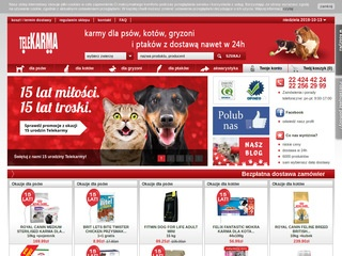 Telekarma.pl karma dla gryzoni