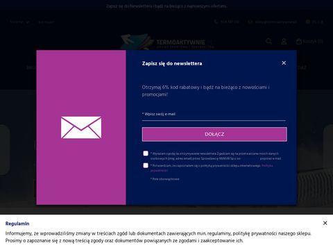 Termoaktywnie.pl sklep internetowy