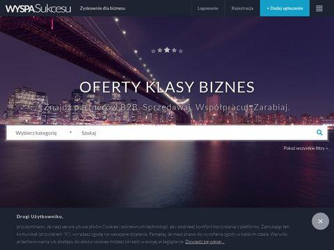 Wyspasukcesu.pl pomysł na biznes, ogłoszenia