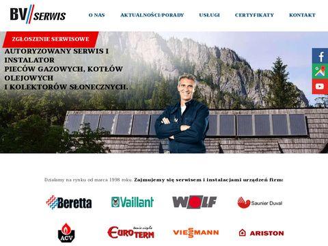 B.V. Serwis naprawa kotłów Szczecin