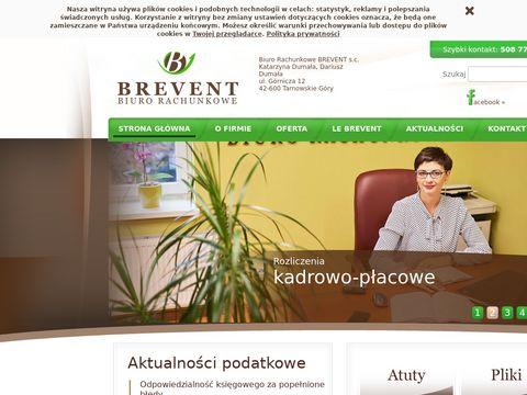 Księgowość Tarnowskie Góry - Brevent
