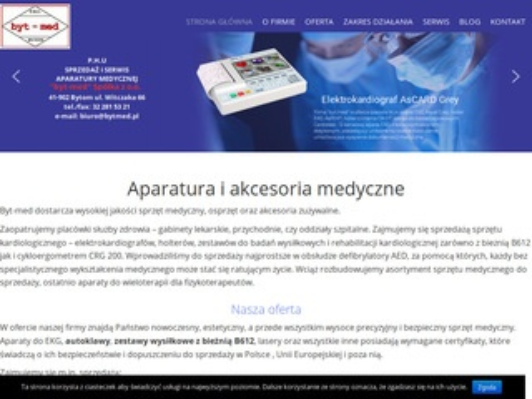 Bytmed - elektrokardiografy