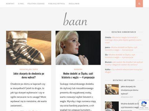 Baan.pl stylizacje i inspiracje modowe