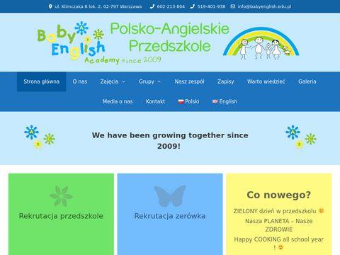 Przedszkole Wilanów - Baby English Academy