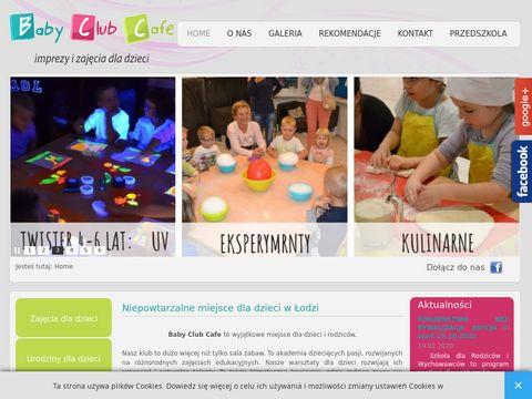Baby Club Cafe urodziny dla dziecka Łódź
