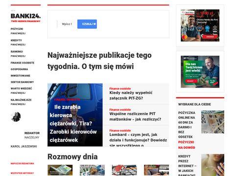 Banki24.com.pl kredyty opinie