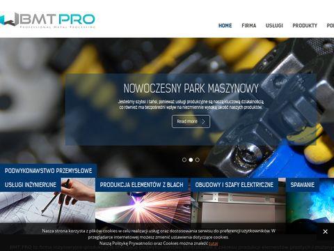 BMT Pro spawanie blach pomorskie