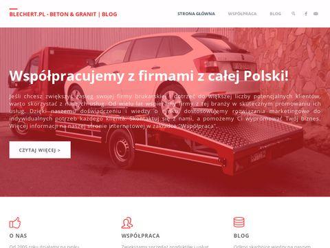 Blechert.pl kostka granitowa, brukarstwo