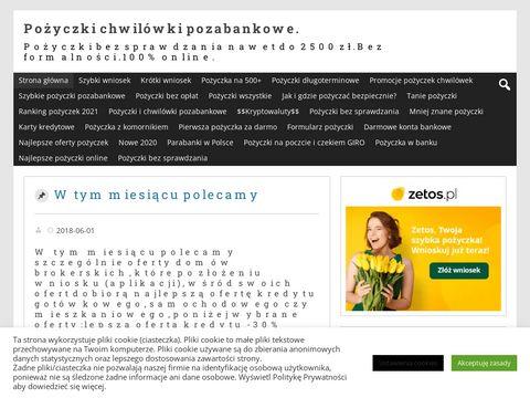 Blog.pozyczkabez.pl ranking chwilówek i pożyczki