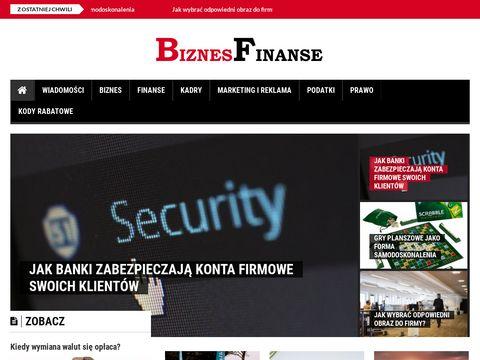 Biznesfinanse.pl serwis o finansach