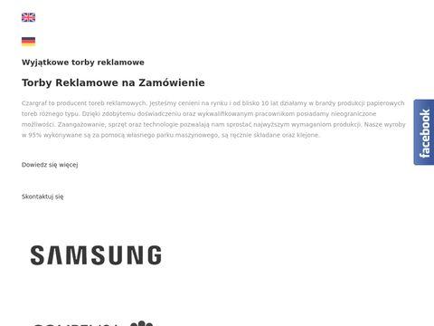 Czargraf torby papierowe Warszawa
