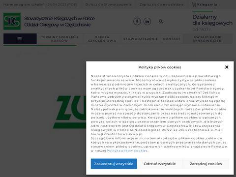Czestochowa.skwp.pl Stowarzyszenie Księgowych