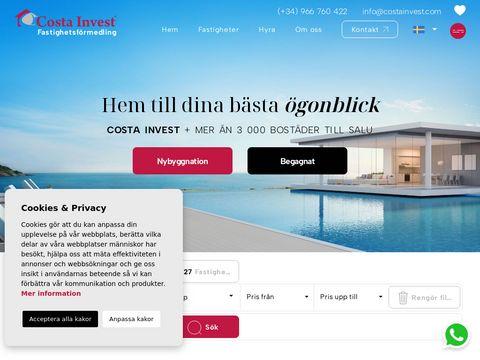 Costa Invest - luksusowe nieruchomości w Hiszpanii