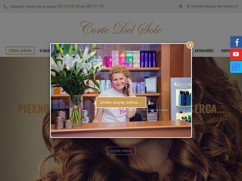 Corte Del Sole fryzjer ursynów