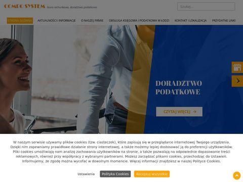 Compo System doradztwo podatkowe Łódź