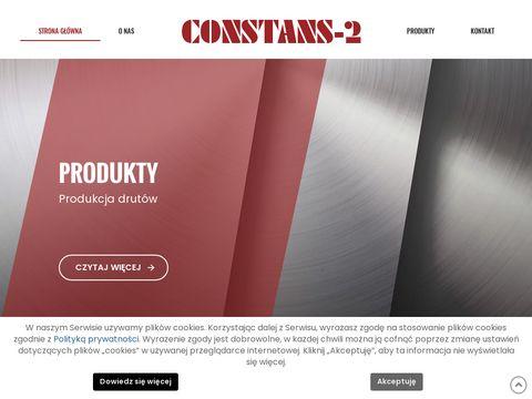 Constans-2 taśmy nierdzewne sprężynowe