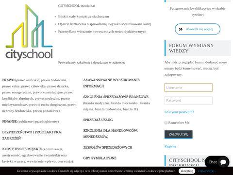 Cityschool szkoła języków obcych Warszawa