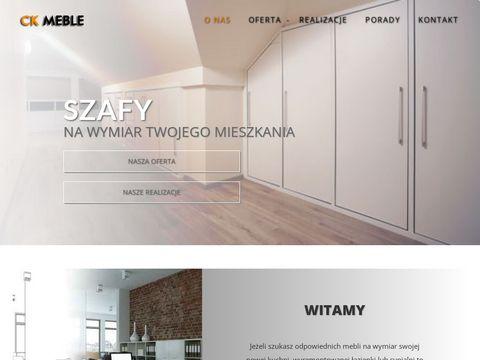 Ck-meble.pl szafy na wymiar Tarnów