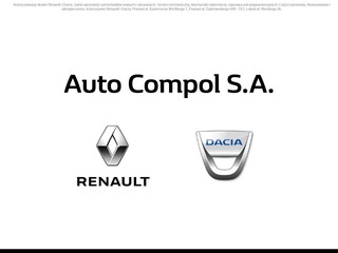 Autocompol.pl koncesjoner Renault
