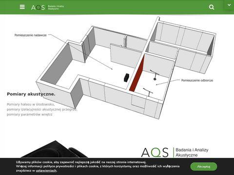 AQS pomiary hałasu
