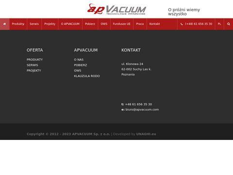 Apvacuum.com - piece próżniowe