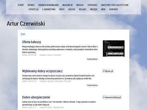 ArturCzerwinski.pl - Tworzenie Stron Internetowych