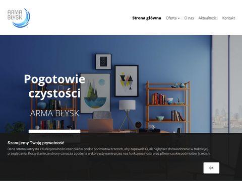 Firmy sprzątające Łódź - arma-blysk.pl