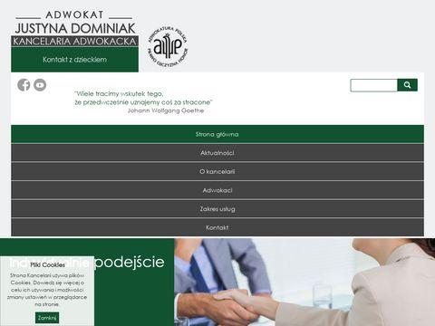Adwokatdominiak.pl Kancelaria Adwokacka z Gorzowa