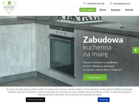 Admebel produkcja mebli Hermanów
