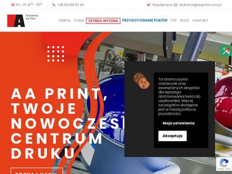 AA Print druk plakatów Katowice