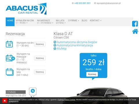 Abacuscars.pl wynajem aut