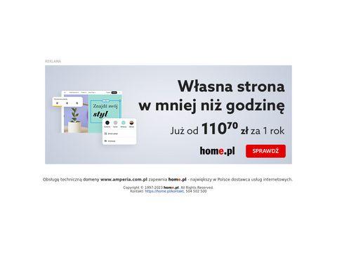 Amperia serwis baterii solarnych Poznań
