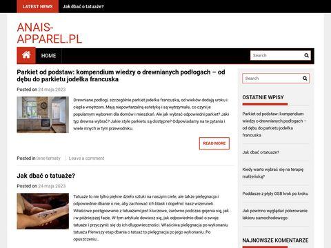 Anais Apparel lingerie sklep