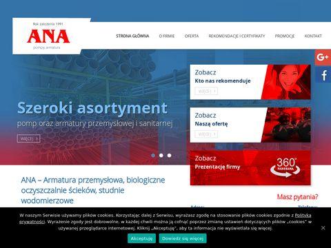 Ana-szczecin.pl armatura przemysłowa