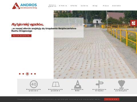 Andros producent znaków drogowych