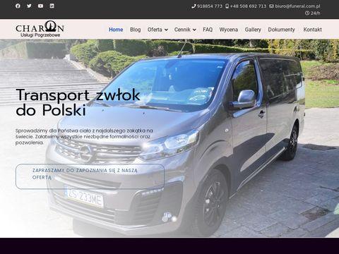 Funeral.com.pl - międzynarodowy transport zwłok