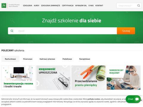 Frr.pl - szkolenie z rachunkowości