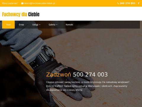 Ad-Active meble kuchenne na wymiar Warszawa