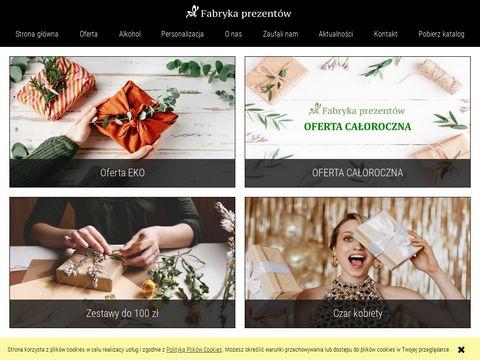 Fabryka-prezentow.com kosze upominkowe dla każdego