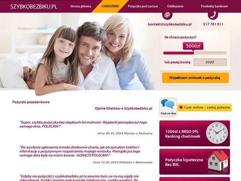 Forsownia.pl szybkie pożyczki gotówkowe