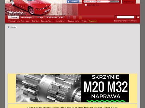 Forum.alfaholicy.org Klub Alfa Romeo