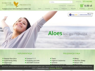 Forever Living - aloes